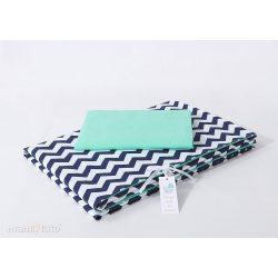 Velvet erdei állatok kék-rózsaszín steppelt bársonyos alvó matrac